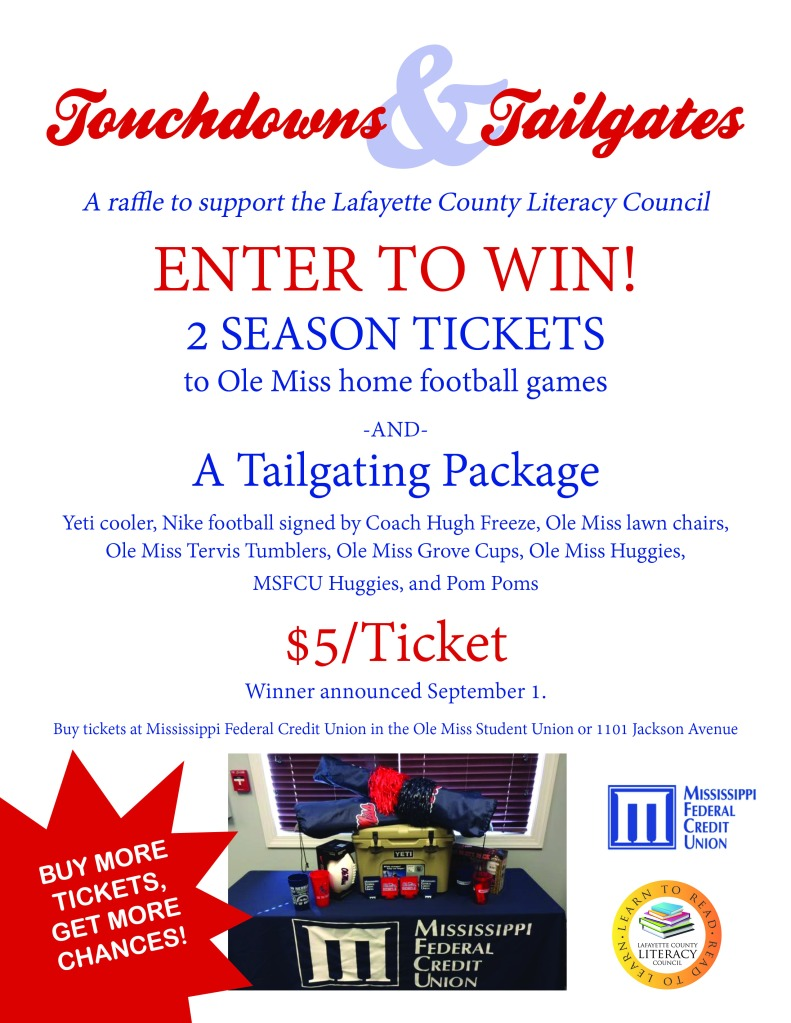 Touchdowns&Tailgates flier